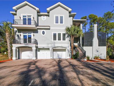 Photo for Outstanding 5 Bedroom, Private Pool, Pet Friendly, Easy Walk to Beach!