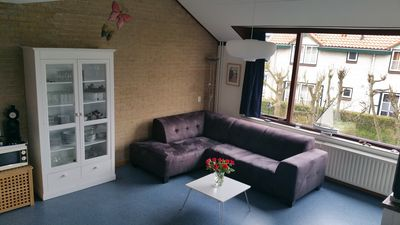 Photo for Top equipped 4 room apt. (90 m²) with beautiful Dünblick, directly on the sea