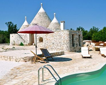 Photo for Trullo OLIVE - Beautiful Trullo with Pool and Panoramic View