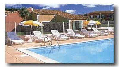 Photo for NICE HOUSE 2 rooms garden and swimming pools in residence 3 *