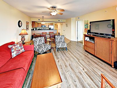 Photo for Gorgeous Ocean-View Condo at Malibu Pointe w/ Lazy River, Pools & Hot Tub