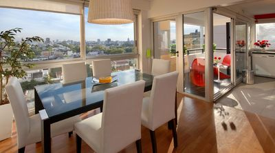 Photo for Luxurious high-rise living in the heart of Palermo SoHo!