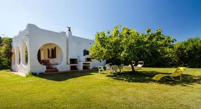 Photo for Beautiful  Villa - 5min walking from nice withe-sand the beach - Villasimius