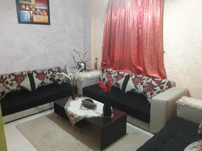 Photo for 2BR Apartment Vacation Rental in Marrakesh, Marrakesh-Safi