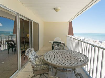 Photo for Indian Shores Direct Gulf Front Condo with Free Perks Included!! - Amazing Views!! Holiday Villa II  #415