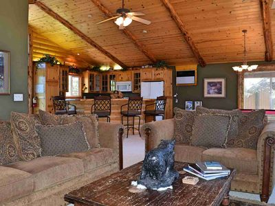 Photo for Villa Grove Lodge: Garage Parking! Pool Table! Outdoor Hot Tub! WiFi! Gas BBQ!