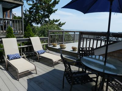 Relax on your deck enjoying the sun and the gentle breeze.