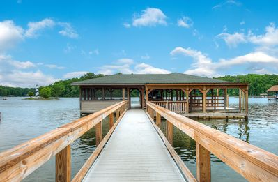 Photo for Log Cabin Living on Lake Anna - Warm side