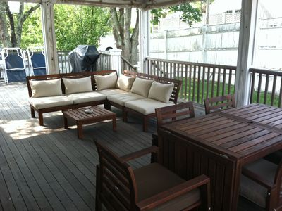 Photo for Private, Centrally Located 3BR West End House with a Huge Covered Deck