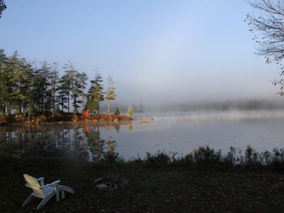 Photo for A cozy cabin just 20 feet from the shore of Toddy Pond