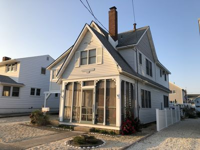 Photo for Lavallette Ocean Block - 5th House from beach. Clean, comfortable and sleeps 14.