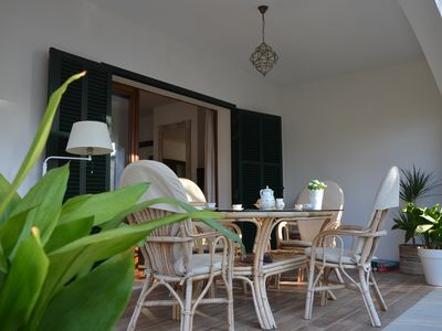 Photo for House 30 meters from a spectacular beach, quiet area, ideal families. Wif
