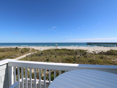 Photo for Guill-Holton – Relax and unwind at this bright and airy oceanfront townhouse