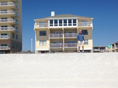 Photo for DIRECT BEACH FRONT DIRECT 2BR/ 1BA