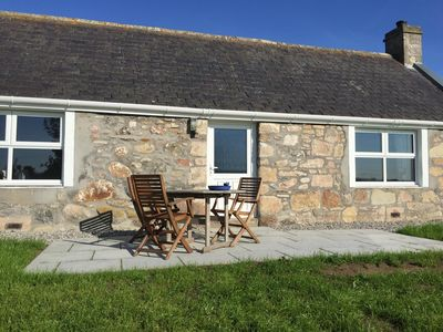 Patio of the Cottage with 360 degrees stunning free views