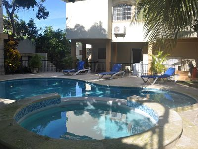 Budget 3-Bedroom Guest-Friendly Condo with Pool in Downtown Sosúa
