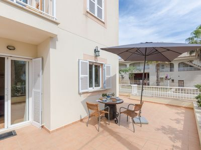 Photo for CA'N PERE ROC - Apartment with terrace in Ca'n Picafort.