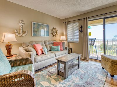 Photo for NEW LISTING! Condo w/ gulf view, near dining, beach, shared pools & hot tubs