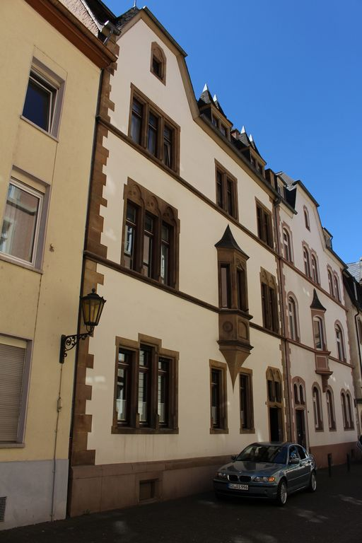 beautiful old building with flair and charm in Trier city