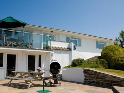 Photo for Beautiful detached holiday home with spacious garden and parking, set in Constantine Bay