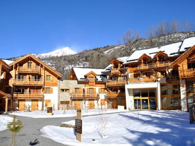 Photo for 1BR Condo Vacation Rental in Chantemerle