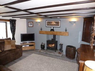 Photo for Treneved Lodge 5 star Detached Cottage with Sea Views