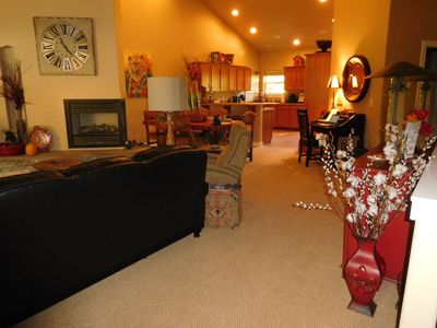 One big great room for all your family and friends with beautiful furnishing