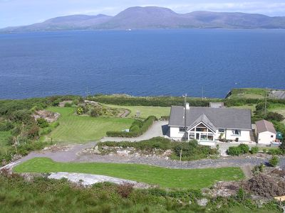 House and Gardens overlooks Bantry bay