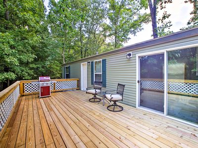Photo for NEW! Rogers Cabin w/Gas Grill- Walk to Beaver Lake