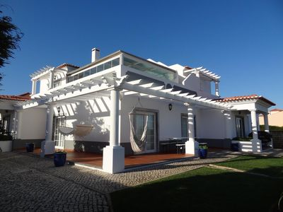 Photo for Chic 4 bedroom 5* villa with a heated pool, beachside, golf and 5* hotel access