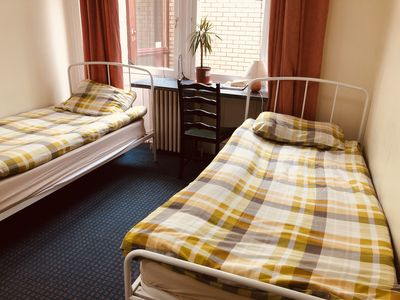 Photo for Private Twin Room with Shared Facilities - Alba Self Catering