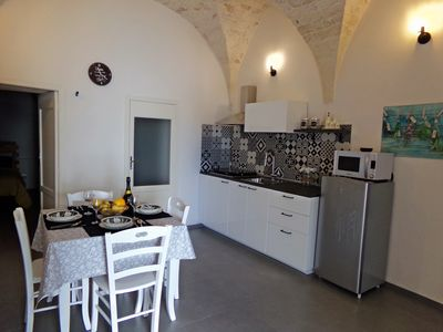 "Photo for ""The three times"" independent house in the historic center with a view, free wifi."