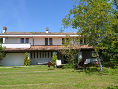 Photo for Villa with garden and splendid panorama, only a few kilometers from the coast
