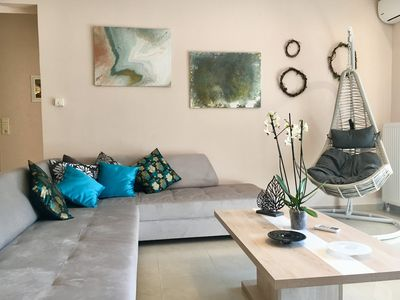 Photo for Dream Home is a  new, independent modern apartment  250 m from the the beach