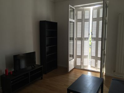 Photo for Beautiful 42m2 T2 with balconies, Biarritz center, 1st floor facing south