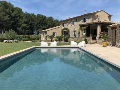Photo for PROVENCAL MAS WITH PRIVATE POOL FOR 8 PEOPLE