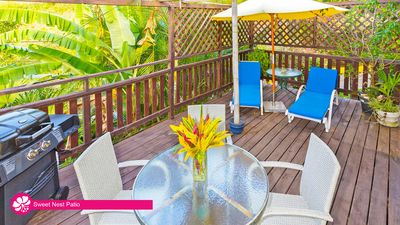 Photo for Sweet Nest Cottage, with full kitchen & private deck