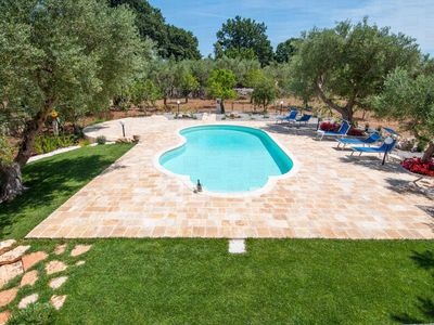 Photo for Trulli Margherita: Lovely Trulli with Pool