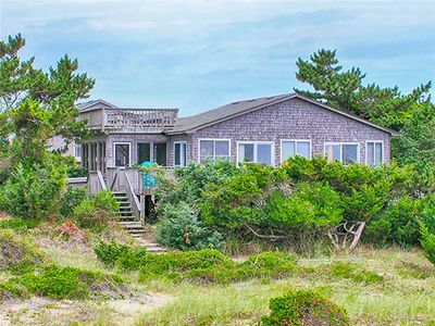 Photo for Charming Oceanfront Cottage in Avon! Beautiful View, Dog-Friendly, Walk to Beach