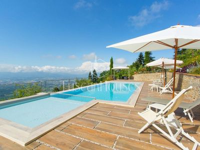 Photo for PANORAMA - IDEAL FOR RELAXING VACATION, FREE WIFI AND PRIVATE POOL
