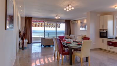 Photo for ✓ Luxury penthouse with panoramic sea views - known from the SAT. 1 travel magazine