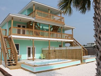 Photo for Brand New Beach Townhouse w/ Private Pool - Steps from the Beach
