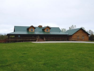 Photo for Hocking Hills Luxury Lodge - Sleeps Maximum 20 Guests