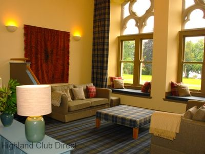 Photo for Highland Club Direct Property - Caladh Apartment in Monastery on Loch Ness -  WiFi - Swimming Pool -