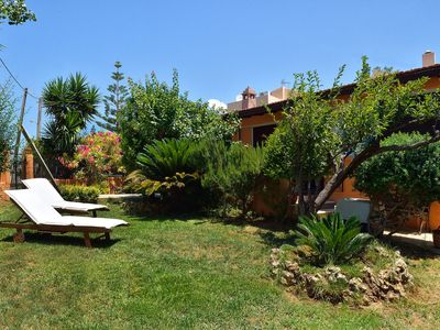 Photo for House 100m from the sea. Garden with fruit trees and flowering plants