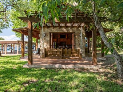 Photo for 2 HOMES/WATERFRONT CASITA/BOAT AND JET SKI LIFTS!
