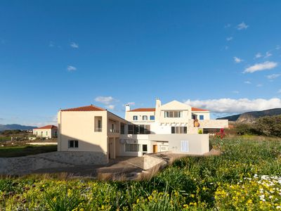 Photo for Blue Seas Villa Retreat - Your Home for up to 14 on the Peloponnese