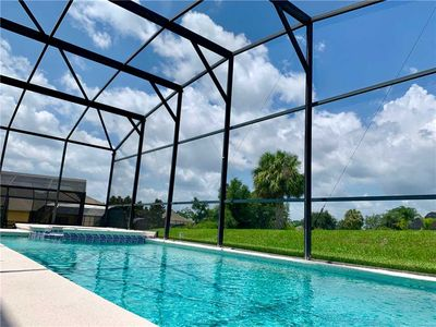 Photo for 8 bedroom Private pool/spa Free wifi Emerald Island 3 Miles to Disney