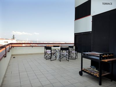 Photo for MODERN APARTMENT WITH TERRACE, CLOSE TO THE SEA AND WITH A VIEW TO THE RIVER