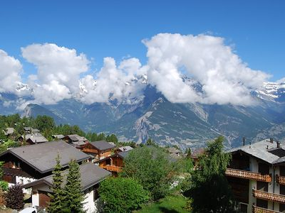 Photo for Apartment in the center of Nendaz with Lift, Parking, Internet, Washing machine (42777)
